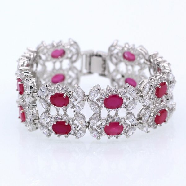 buy ruby in designs the online pics bracelet bracelets india blossom jewellery
